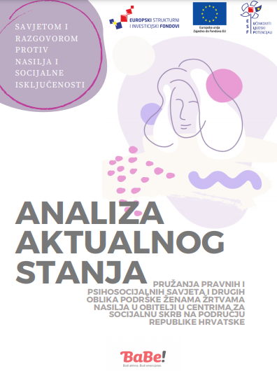 Analiza aktualnog stanja pružanja podrške žrtvama obiteljskog nasilja